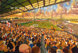 Hand Painted original of BOOTHFERRY PARK
